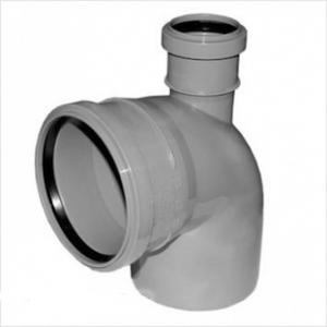 Отводы ПВХ 110 мм канализационные
